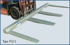 2.5 Tonne Fork Spreader Attachment