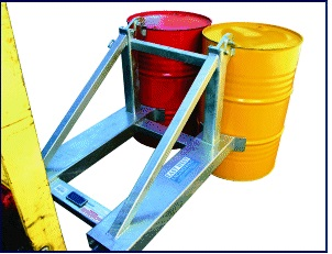 Forklift attachment BGN2 Drum Lifter