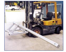tarp spreader forklift attachment